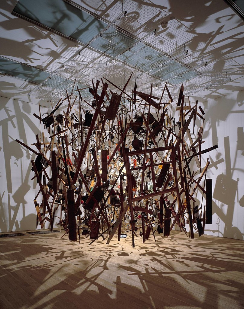 Cornelia Parker - Cold Dark Matter: An Exploded View (1991)